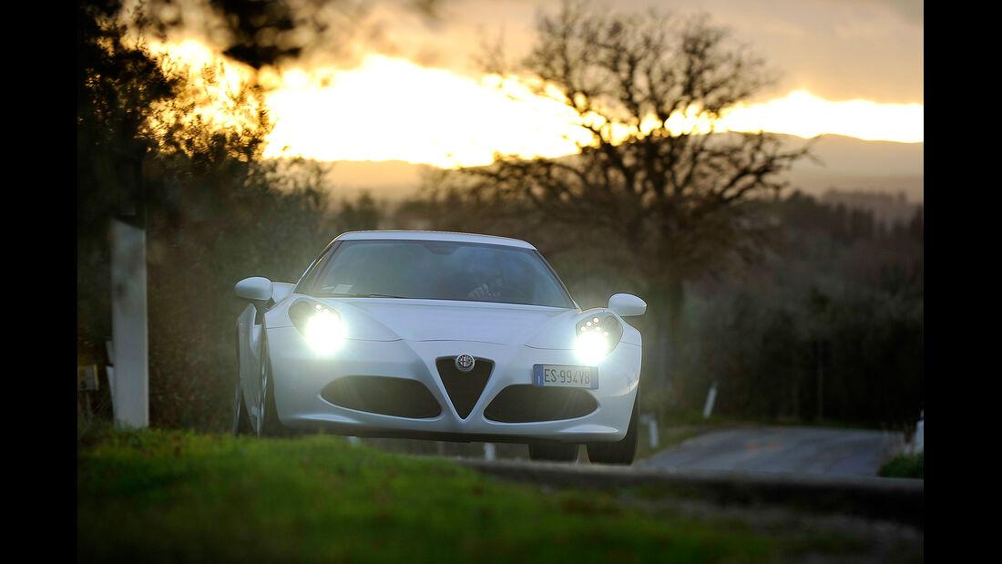 Alfa Romeo 4C, Frontansicht