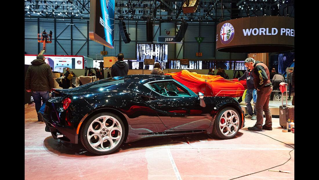 Alfa Romeo 4C, Genfer Autosalon, Messe 2014