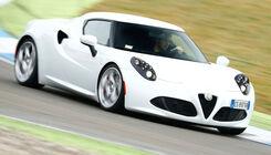 Alfa Romeo 4C auf dem Track