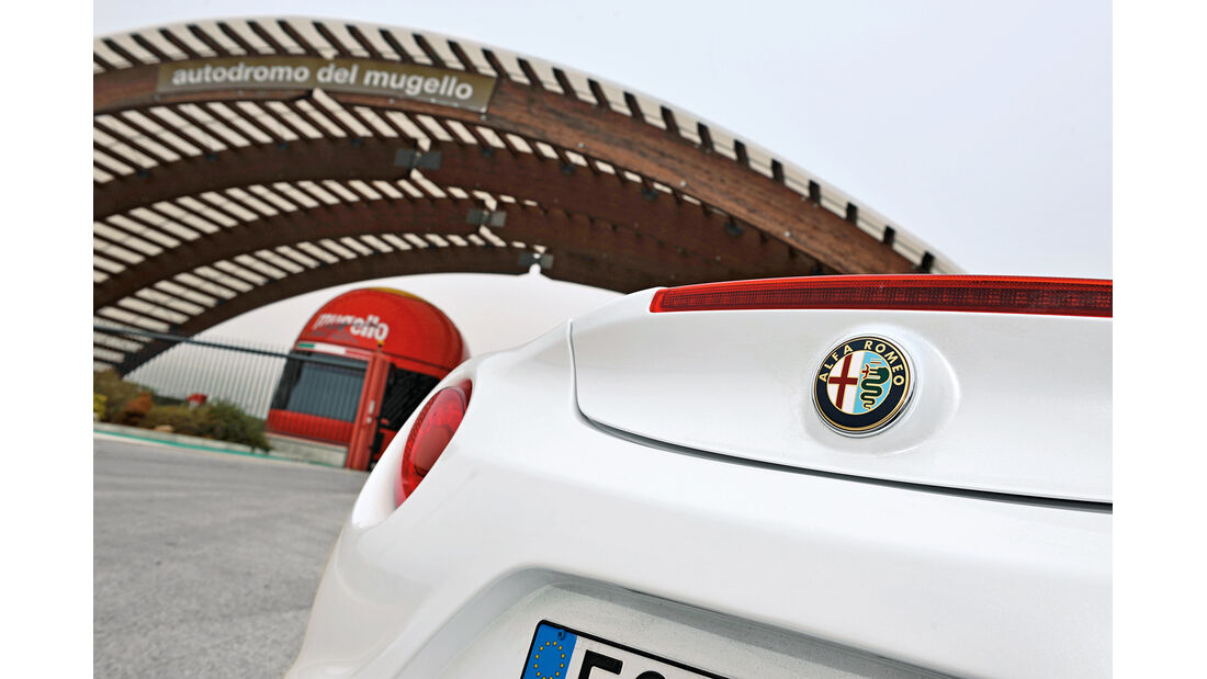 Alfa Romeo 4C, Heck, Mugello