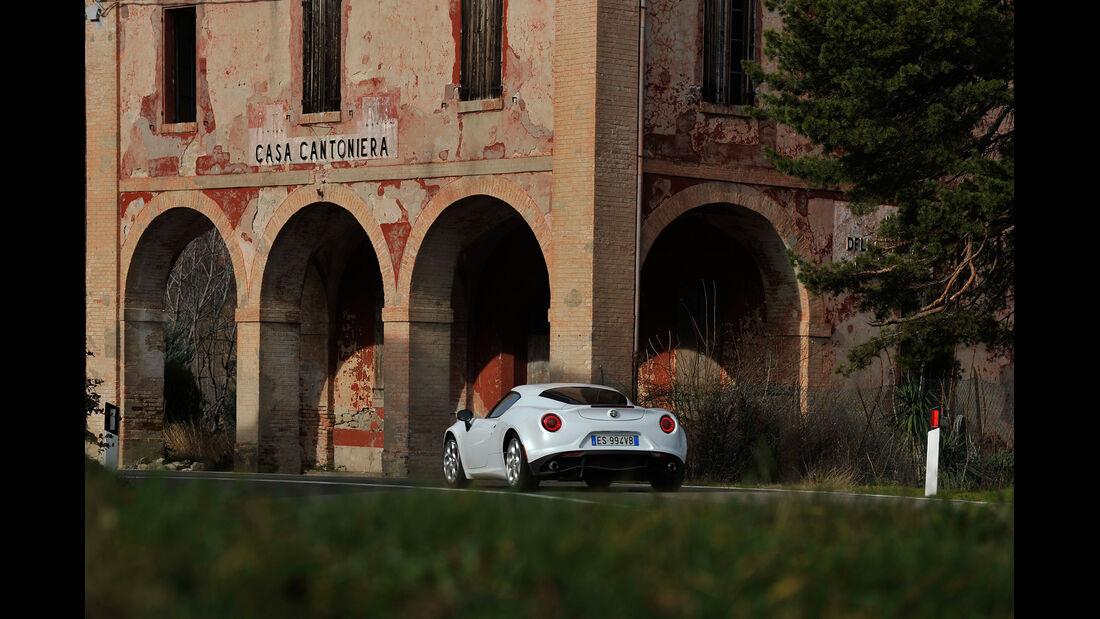 Alfa Romeo 4C, Heckansicht