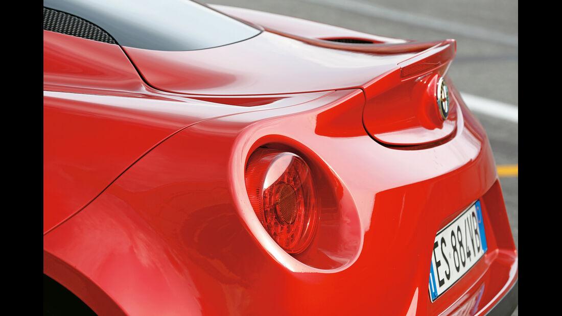 Alfa Romeo 4C, Heckspoiler