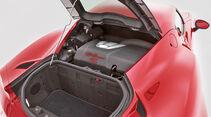 Alfa Romeo 4C, Kofferraum, Motor
