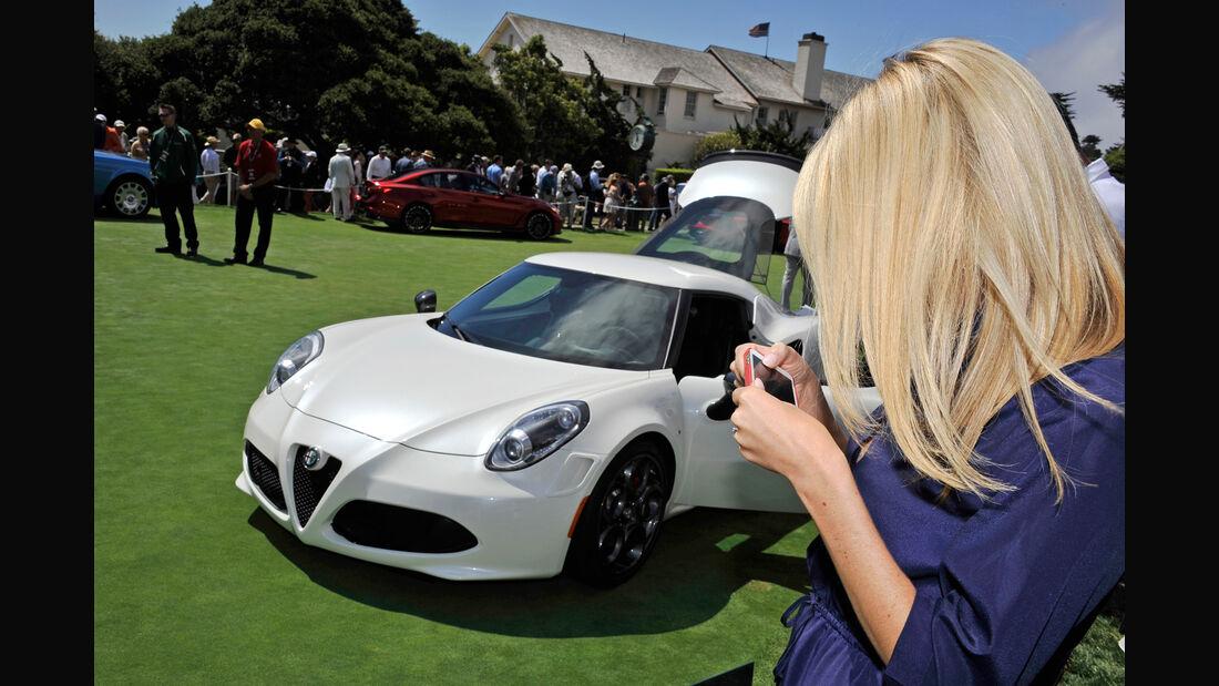 Alfa Romeo 4C - Pebble Beach 2014 - Pebble Beach Concours d'Élegance - 08/2014