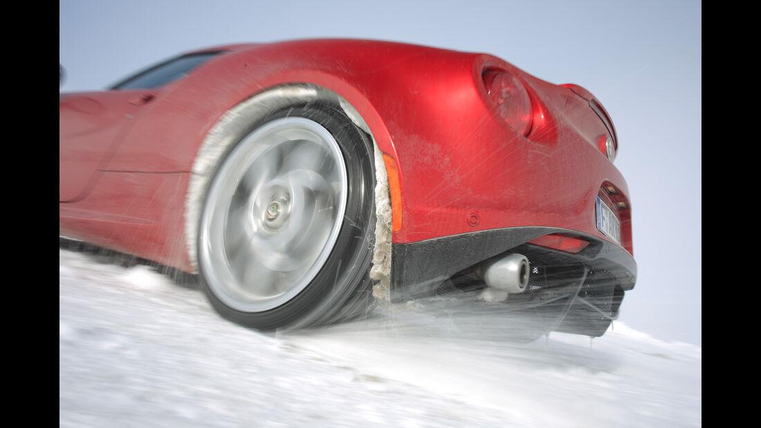 Alfa Romeo 4C, Rad, Felge