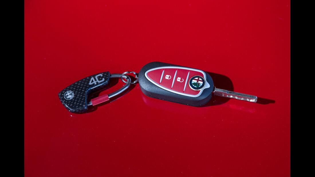 Alfa Romeo 4C, Schlüssel