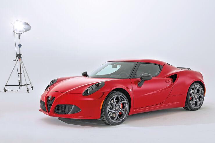 Alfa Romeo 4C, Seitenansicht