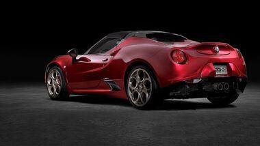 Alfa Romeo 4C Sonderedition Aufmacher