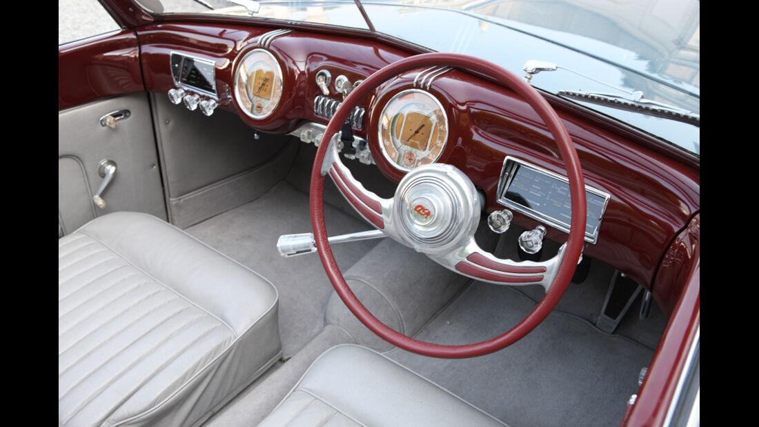 Alfa Romeo 6C 2500 C Cabriolet Stabilimenti Farina Cockpit