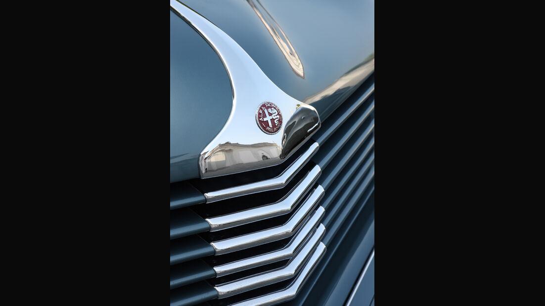 Alfa Romeo 6C 2500 C Cabriolet Stabilimenti Farina Kühlergrill