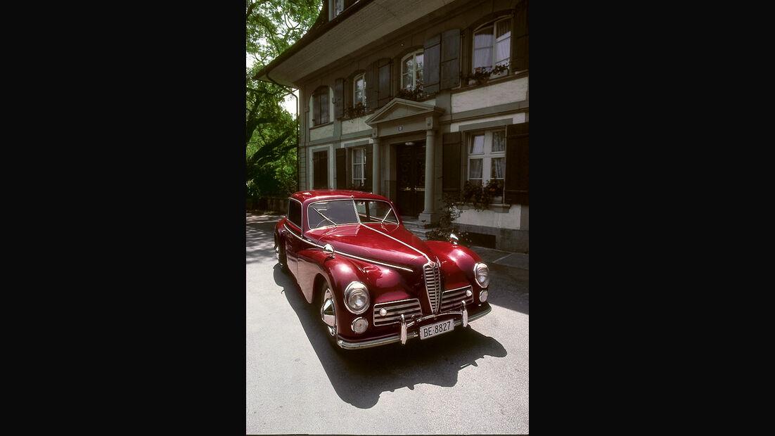 Alfa Romeo 6C 2500, Frontansicht