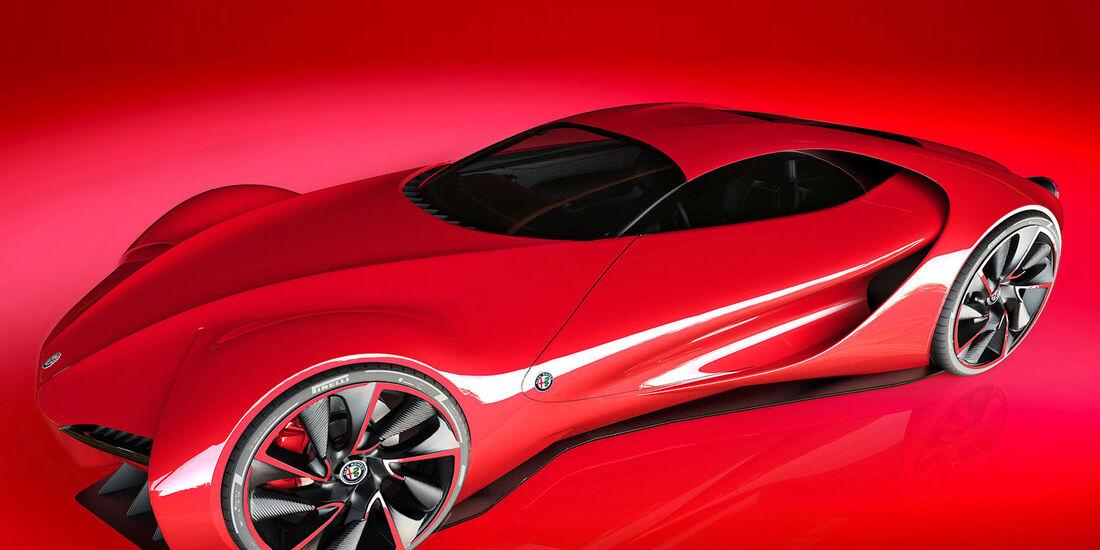 Verbazingwekkend Alfa Romeo 6C Disco Volante von Künstler Alex Imnadze - auto motor BH-48