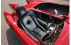 Alfa Romeo 750 Competizione, Fahrersitz