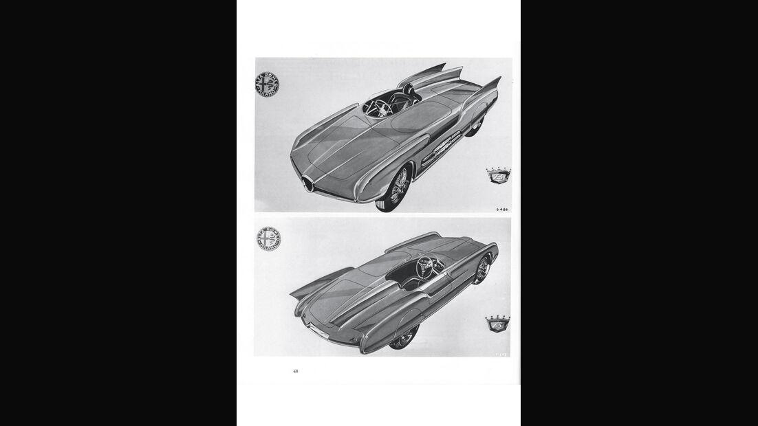 Alfa Romeo 750 Competizione, Katalog