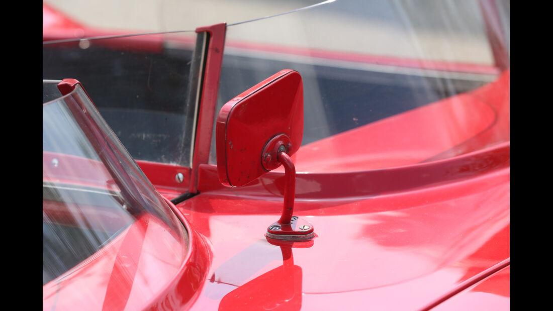 Alfa Romeo 750 Competizione, Rückspiegel