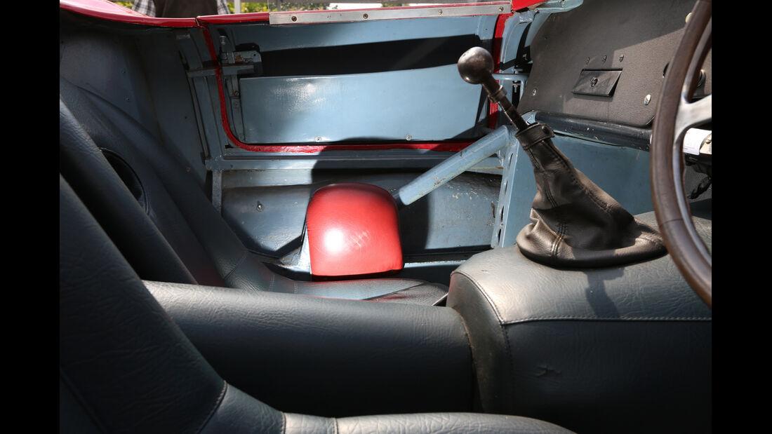 Alfa Romeo 750 Competizione, Schalthebel
