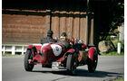 Alfa Romeo 8C 2300 Monza, Rückansicht, Fahrt