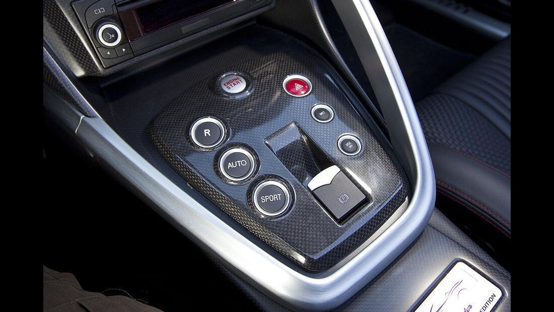 Alfa Romeo 8C Spider, Cockpit, Schalter