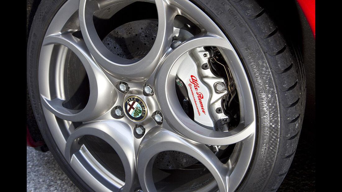 Alfa Romeo 8C Spider, Felge