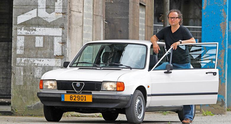 Alfa Romeo Alfasud 1.5, Frontansicht