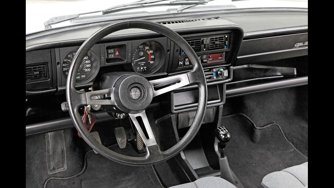 Alfa Romeo Alfasud 1.5, Lenkrad