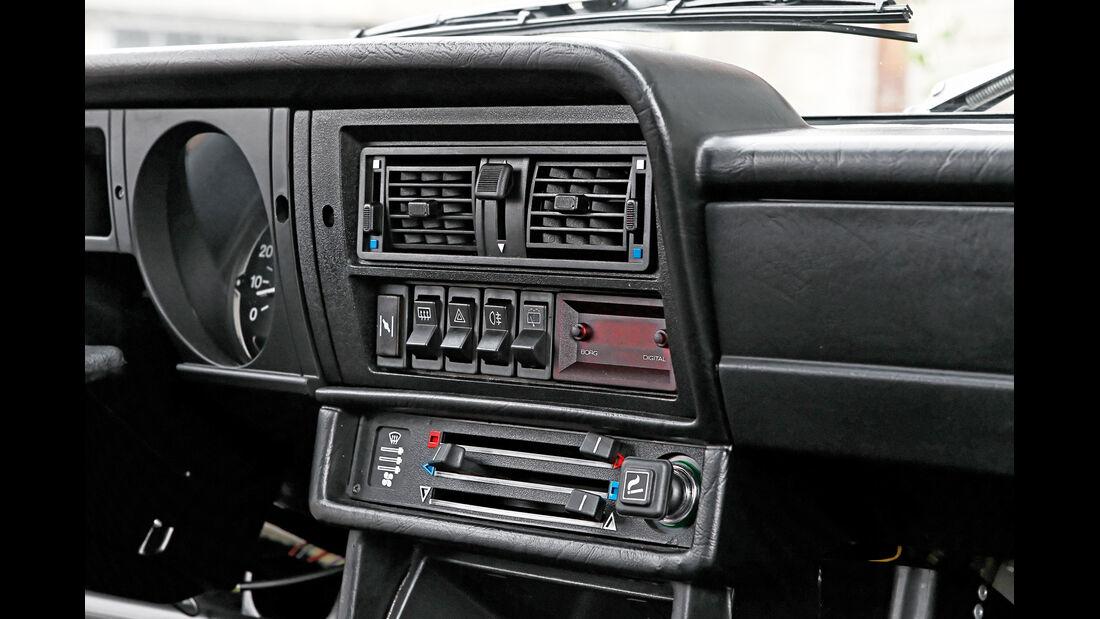 Alfa Romeo Alfasud 1.5, Mittelkonsole