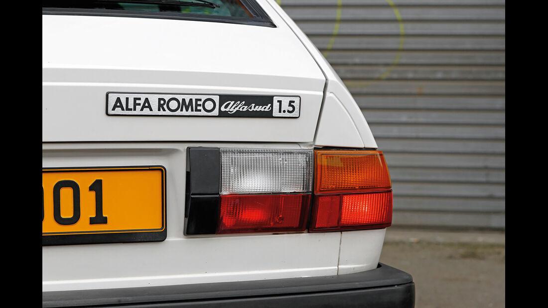 Alfa Romeo Alfasud 1.5, Typenbezeichnung