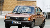 Alfa Romeo Alfasud, Frontansicht