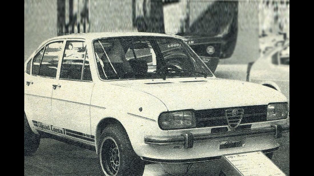 Alfa Romeo, Alfasud, IAA 1977