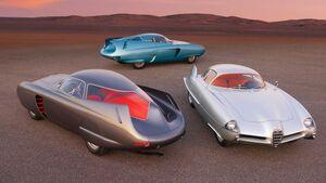Alfa Romeo B.A.T. 5/7/9 1953, 1954, 1955