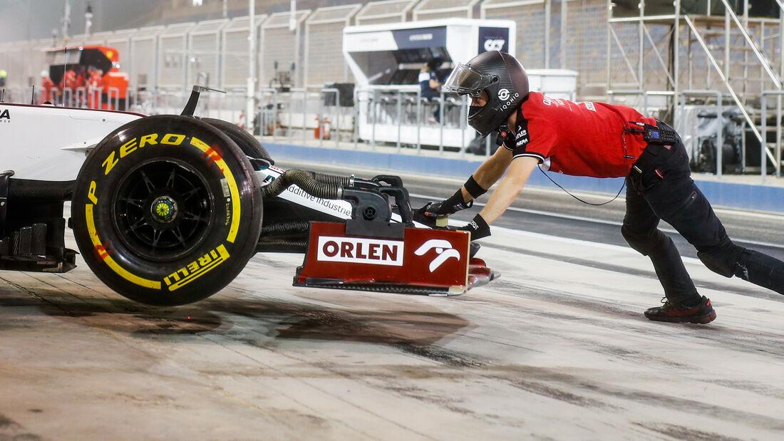 Alfa Romeo - Bahrain-Test - 2021
