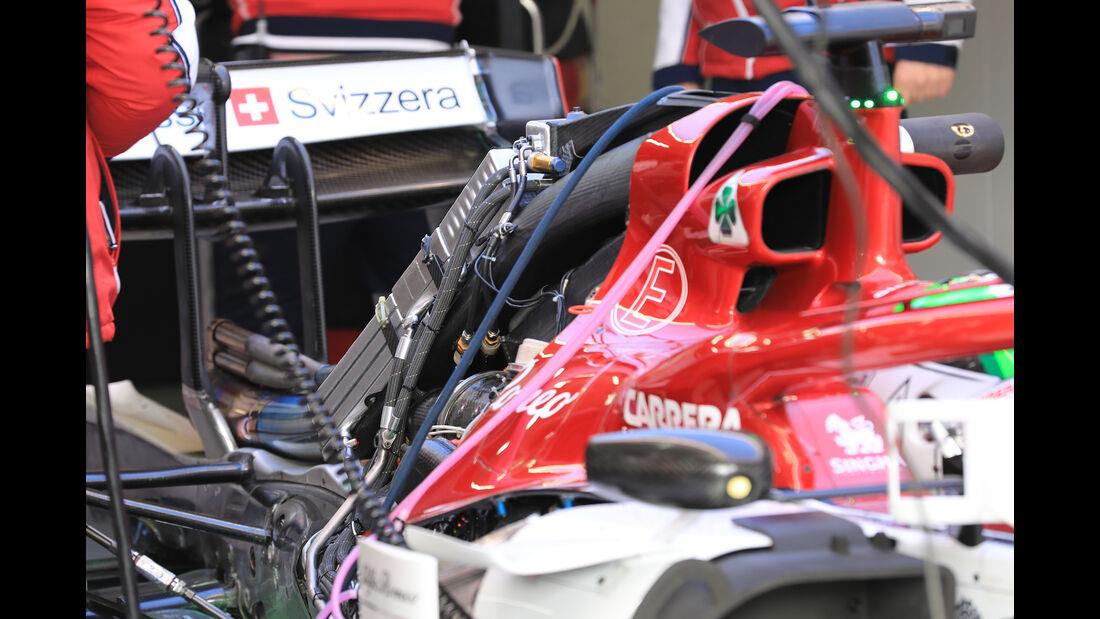 Alfa Romeo - Barcelona - F1-Test - 19. Februar 2019