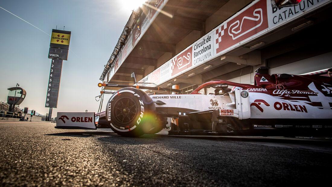 Alfa Romeo - Barcelona-Test - 2020