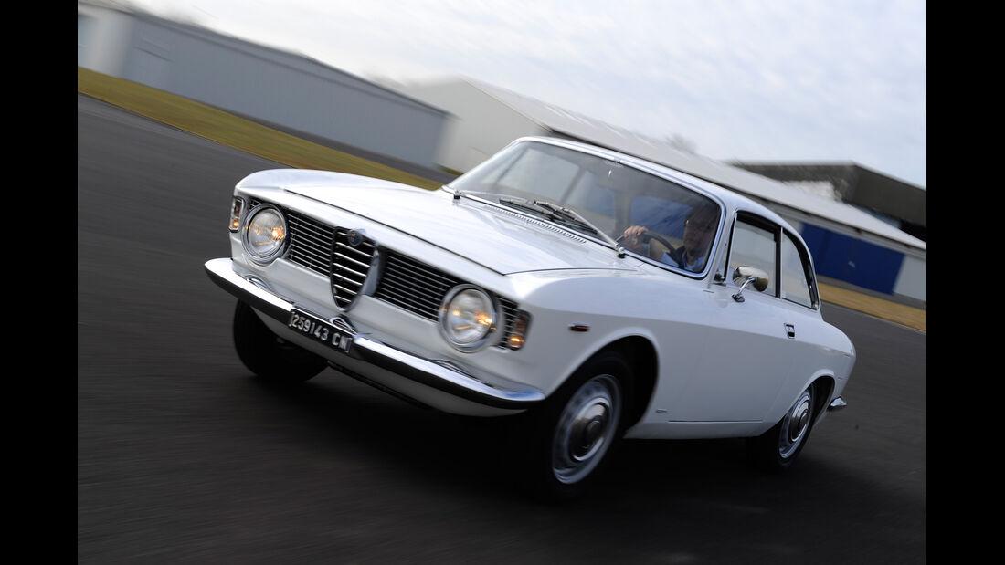 Alfa Romeo Bertone, Frontansicht