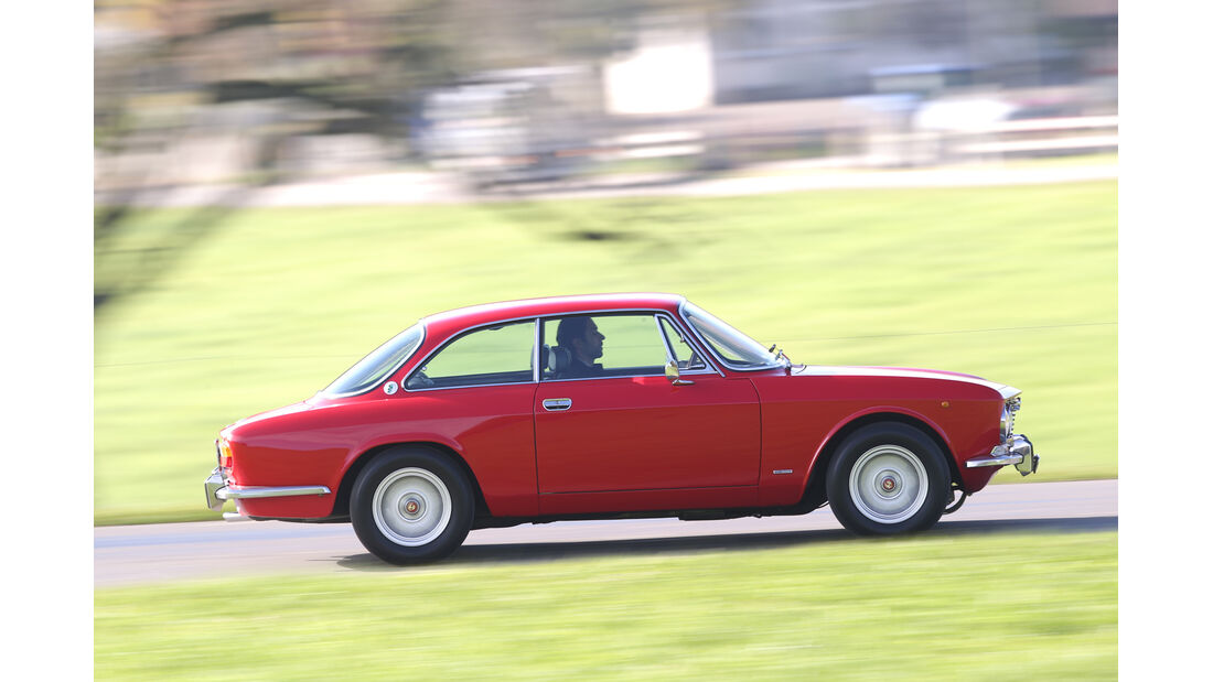 Alfa Romeo Bertone, Heckansicht
