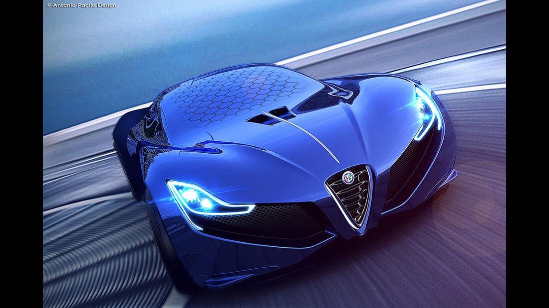 Alfa Romeo C18 Concept - Antonio Paglia - Supersportwagen
