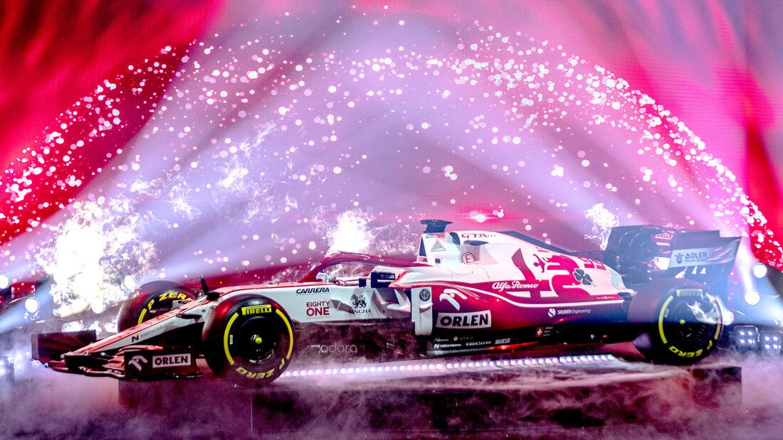 Alfa Romeo C41 - Formel 1 - 2021