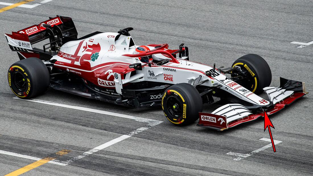Alfa Romeo C41 - Formel 1 - Technik - 2021