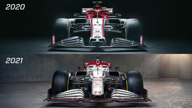 Alfa Romeo - C41 - Präsentation - Formel 1 - 2021