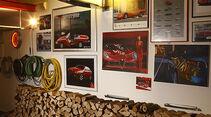 Alfa Romeo - Dekoration und Leuchtreklame