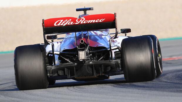 Alfa Romeo - Diffusor - F1-Test - Barcelona - 2020