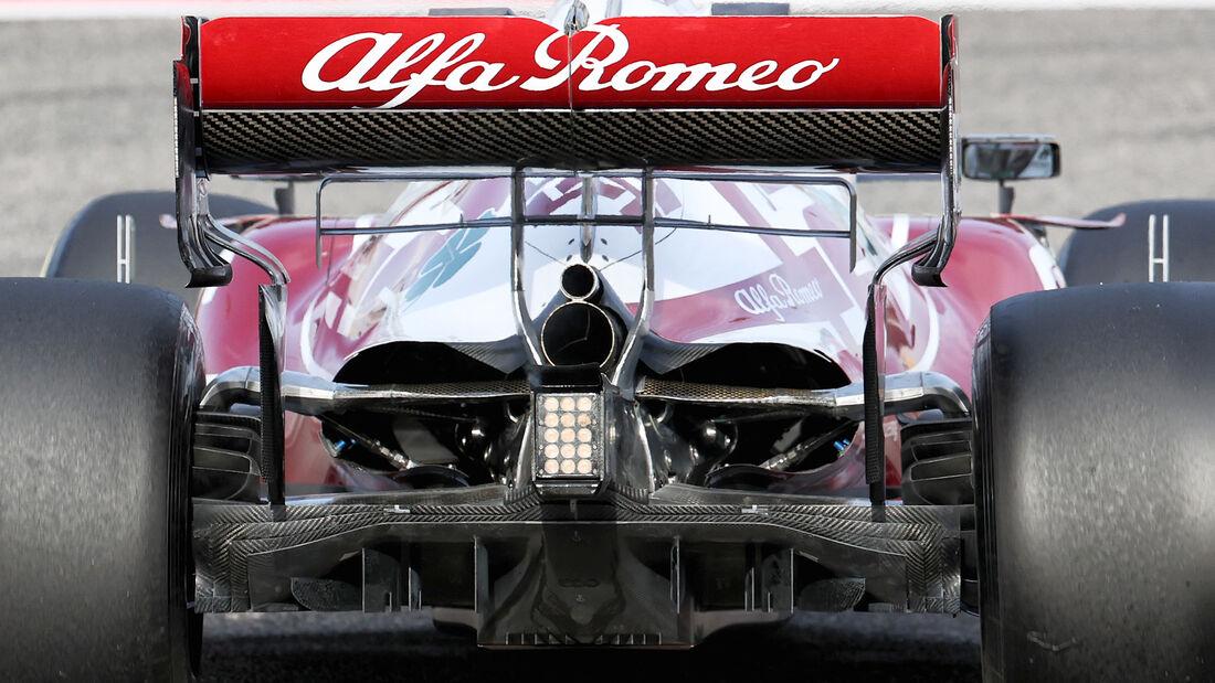 Alfa Romeo - Diffusor - Formel-1-Test - Bahrain - 2021