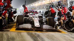 Alfa Romeo - F1-Test - Bahrain - 2021