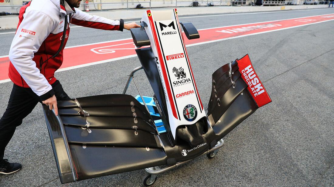 Alfa Romeo - F1-Test - Barcelona - 26. Februar 2020