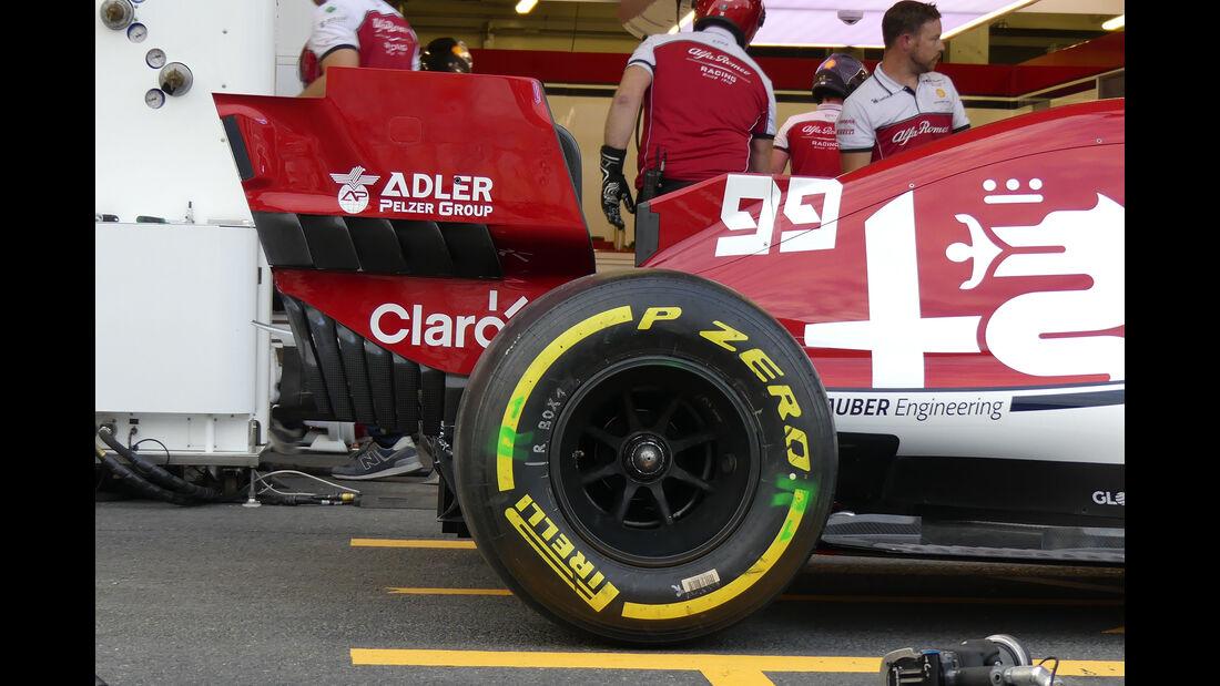 Alfa Romeo - Formel 1 - GP Aserbaidschan - Baku - 25. April 2019
