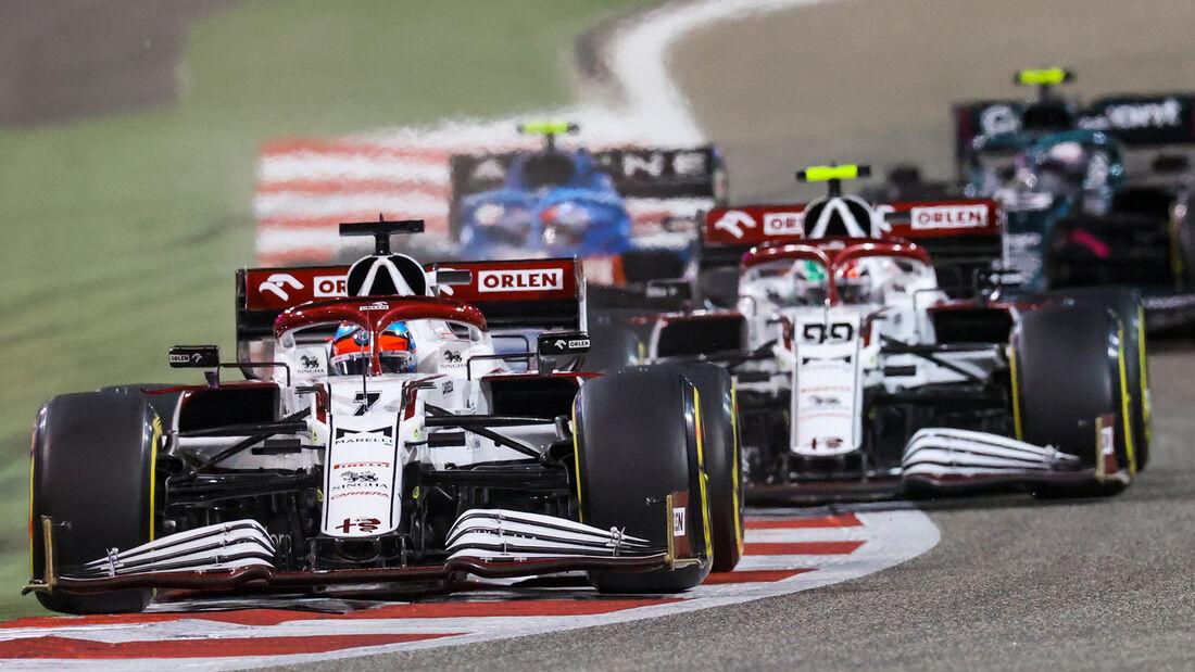 Alfa Romeo - Formel 1 - GP Bahrain 2021
