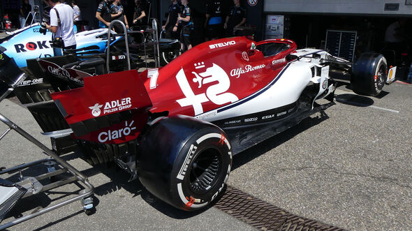 Alfa Romeo - Formel 1 - GP Deutschland - Hockenheim - 25. Juli 2019
