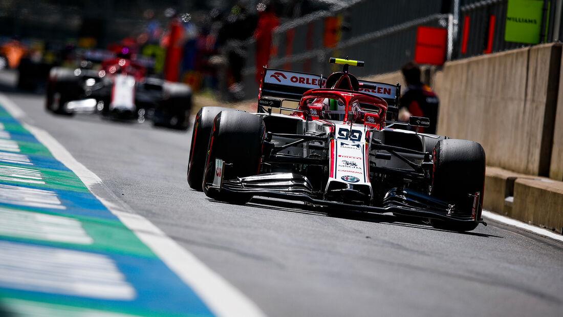 Alfa Romeo - Formel 1 - GP England 2020