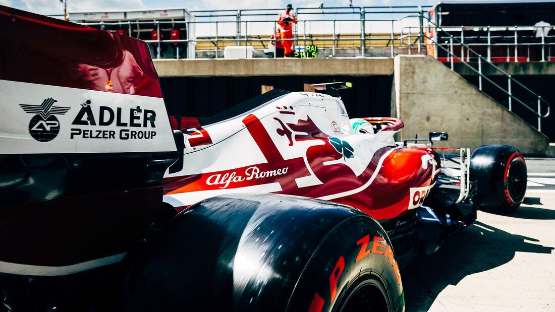 Alfa Romeo - Formel 1 - GP England 2021