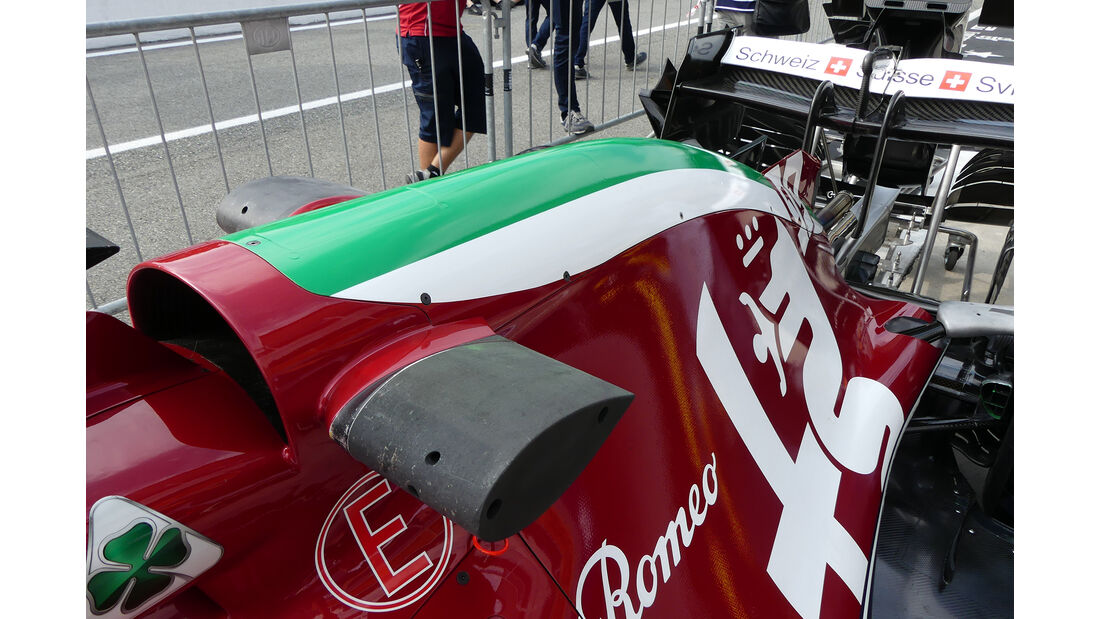Alfa Romeo - Formel 1 - GP Italien - Monza - 5. September 2019